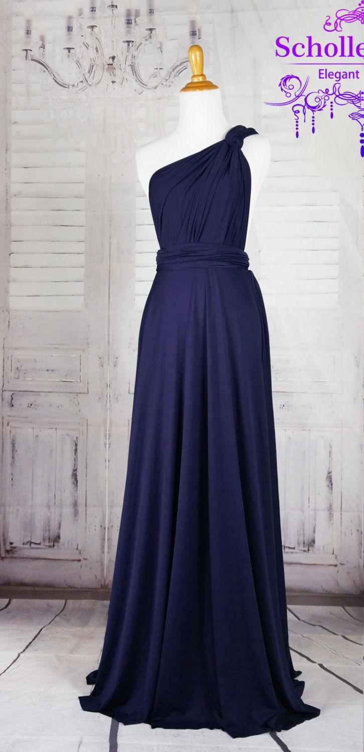 Are You Looking For A Bridesmaids Dress To Attend Wedding Party If So Then This Refreshing Navy Blue Infinity Makes It Perfect Any