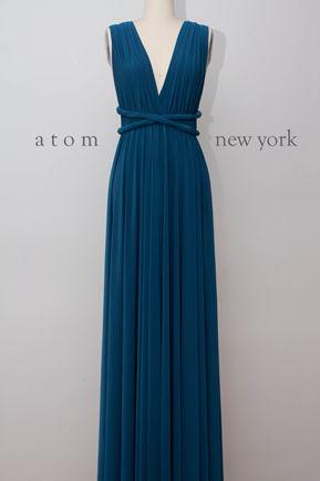 Convertible dress,Royal Blue infinity dress,Floor length convertible dress,bridesmaid dresses,convetible wrap dress,wrap dress