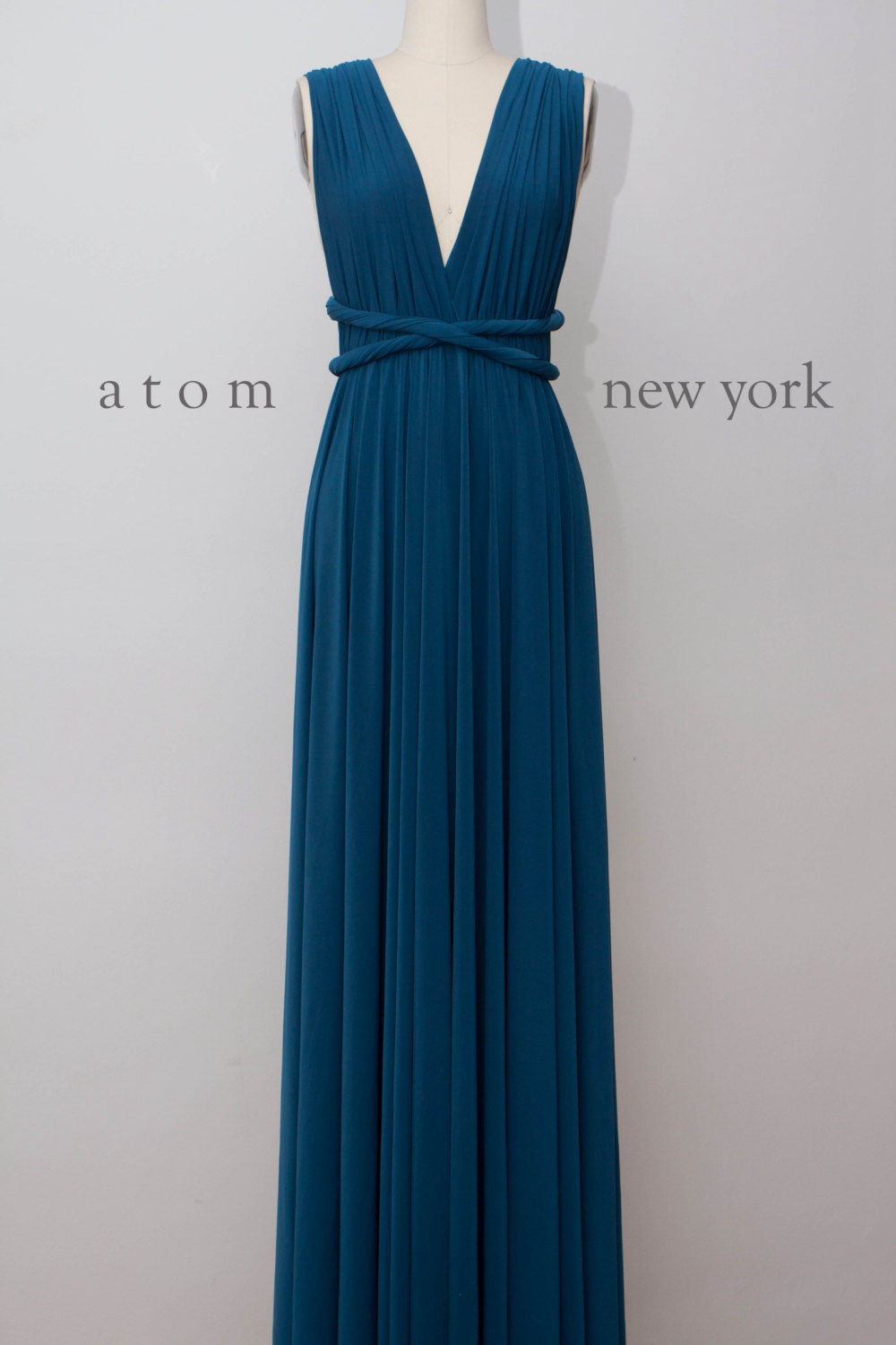 Convertible Dress Royal Blue Infinity Dress Floor Length