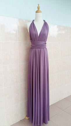 Long dress transformer, dusty rose bridesmaids dress, Convertible dress, bridesmaids infinity dress, Wrap dress