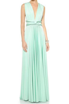 Long convertible dress, mint green infinity dress, Long convertible bridesmaid dress, bridesmaid dresses, convertible wrap dress, prom dress