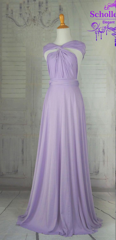 Violet Bridesmaid Dress Infinity Dress Prom Dress Convertible Dress Wrap Dress