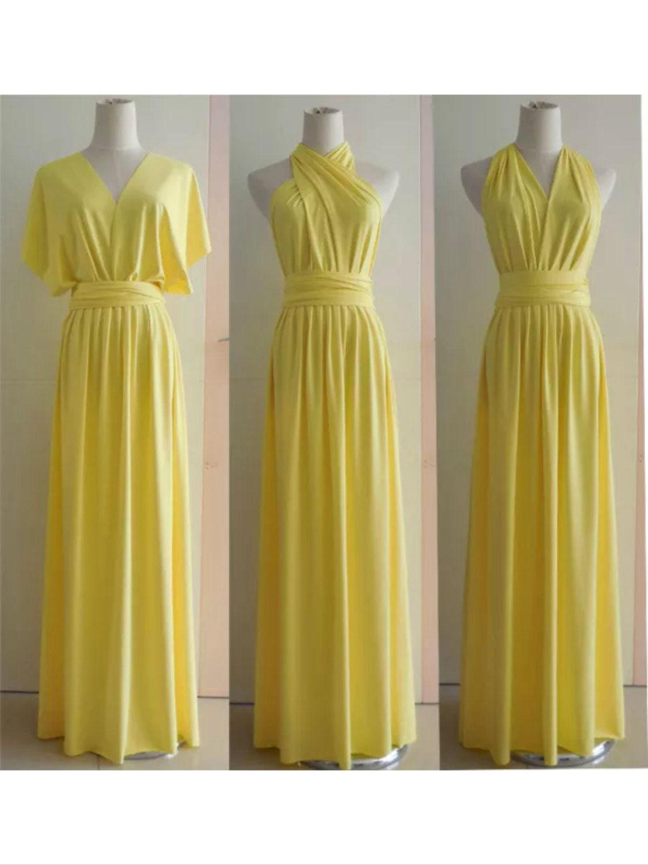 Set of 15 Popular Bridesmaid Dress, Long Convertible Bridesmaid Dress, Floor Length Bridesmaid Dress