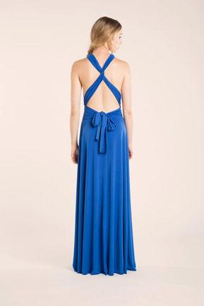 Set of 7 Royal Blue Infinity Dress, Convertible Bridesmaid Dress, cheap prom dress, Evening Dress, Gifts for bridesmaids