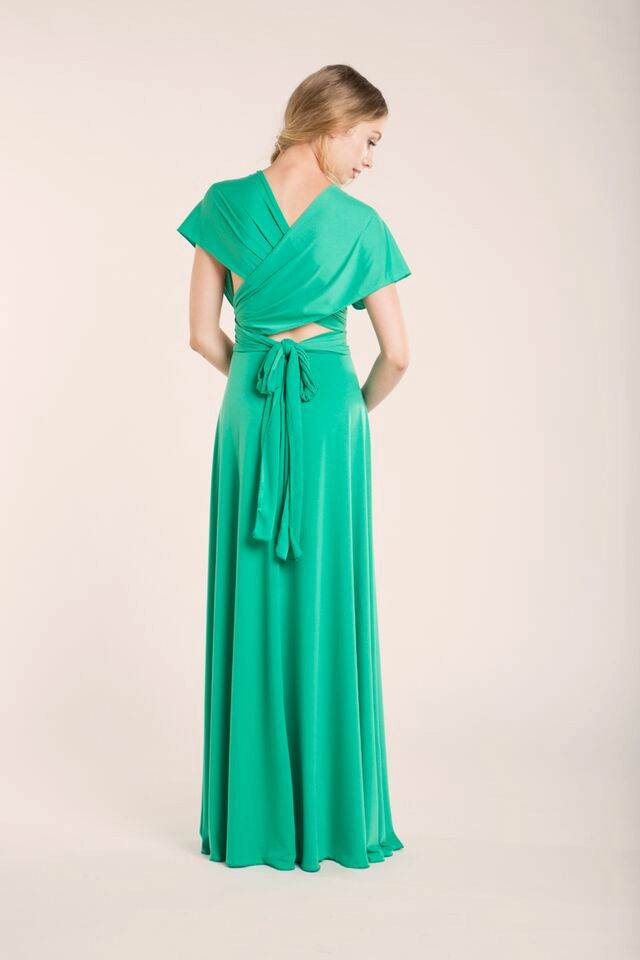Perfect Tiffany Bridesmaid Dress, flowing \