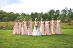 Set of 8 Full Length Long Maxi Infinity Dress,Formal Multiway Dress, Wrap Dress, Bridesmaid Dress