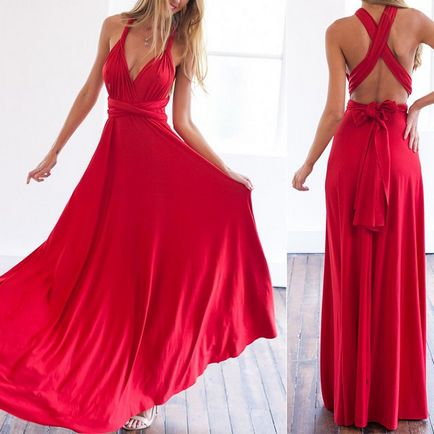 Pack of 6 Infinity dress red infinity dress, bridesmaid red dresses, red bridesmaid dress, prom red dresses, Long red dress, event red dress, wedding