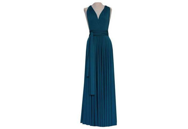 Convertible Dresses Cheap, Blue Convertible Dress, Different Ways to Dress, Wedding Dress