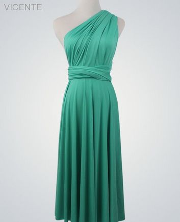 1 Jade Convertible Dress, Blue Infinity Dress, Infinity Dress for Sale, Bridesmaid Dress