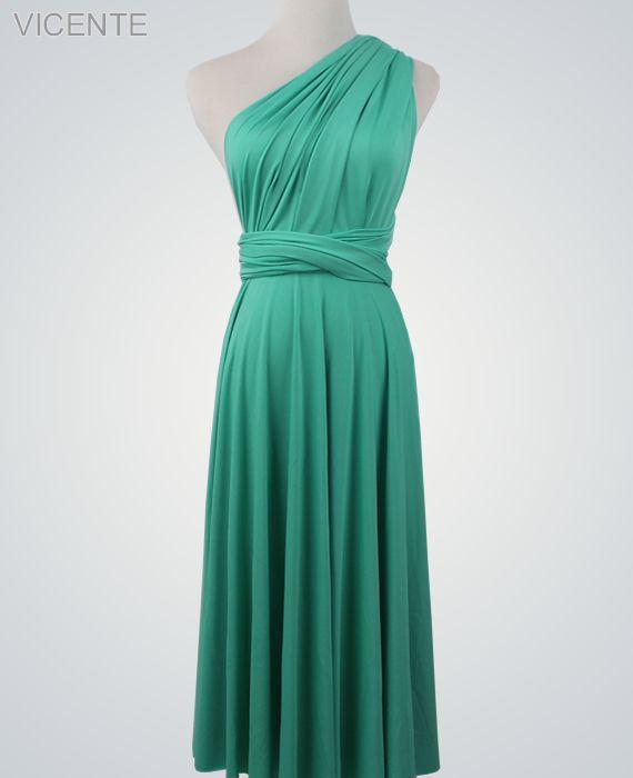 1 Jade Convertible Dress, Blue Infinity Dress, Infinity Dress for Sale, Bridesmaid Dress