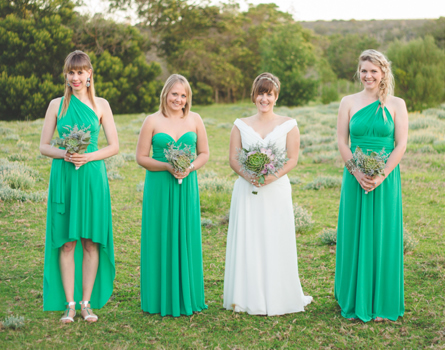 Set of 14 Infinity Dresses, Green Convertible Dress, Infinity Wrap Dress, Party Dress, Bridal Party