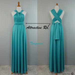 Set of 7 Infinity Dress Set, Blue Infinity Dress, Best Convertible Dress, Infinity Dress Bridesmaid