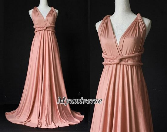 Set of 13 Rose Infinity Dress, Convertible Dress, Convertible Dresses for Bridesmaids, Evening Dress