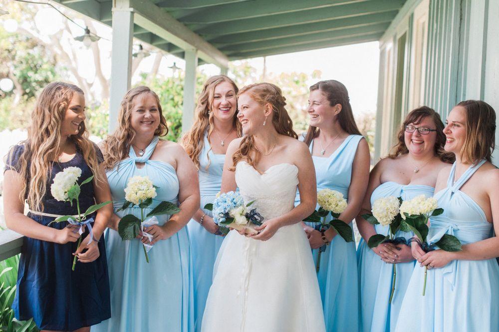 Set of 17 Light Blue Convertible Dress, Baby Blue Infinity Dress, Convertable Bridesmaid Dress