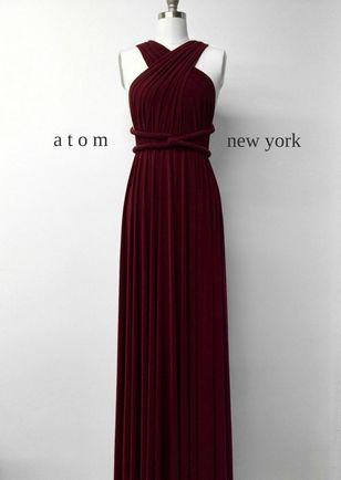 Infinity Dress Set, Red Infinity Dress, Best Convertible Dress, Infinity Dress Bridesmaid