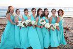 Set of 5 Blue Party Dress, Light Blue Infinity Dress, Long Dress, Convertible Dresses for Bridesmaids