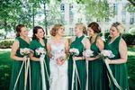 Set of 17 Emerald Convertible Dress Set, Long Green Infinity Dress, Bridal Party, Evening Dress
