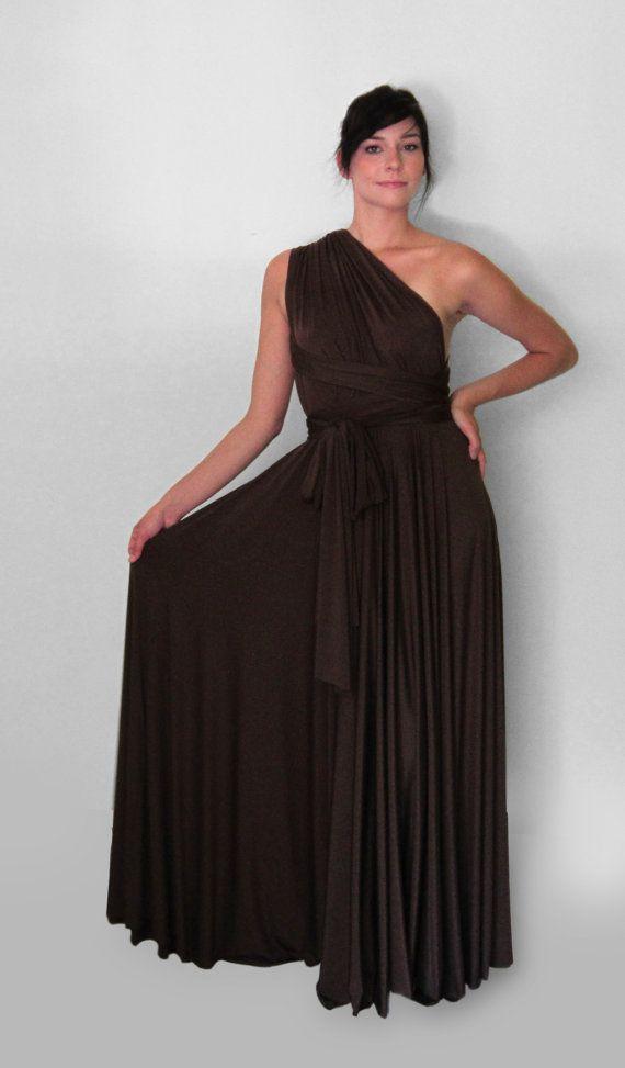1 Convertible Bridesmaid Dress, Multiway Bridesmaid Dress, Champagne Convertible Dress, Convertible Bridesmaid Dress Long