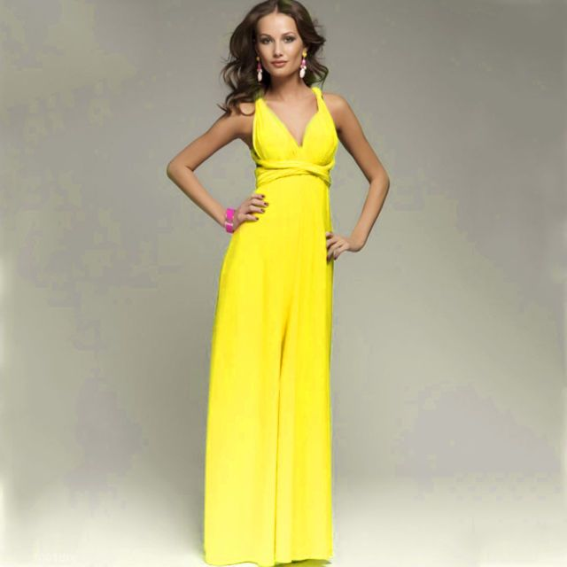 d2a2a41feed 1 Yellow Infinity Dress