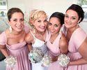 Pack of 7 Convertible Maxi Dress Bridesmaid, Pink Infinity Dress, Twist Wrap Dress, Wrap Dresses for Bridesmaids