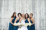 Set of 2 Dark Blue Convertible Dress, Infinity Maxi Dress, Multiway Wrap Dress, Convertible Infinity Bridesmaid Wrap Dress