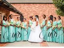 Pack of 9 Convertible Bridesmaid Dresses, Green Infinity Convertible Dress, Convertible Maxi Bridesmaid Dress