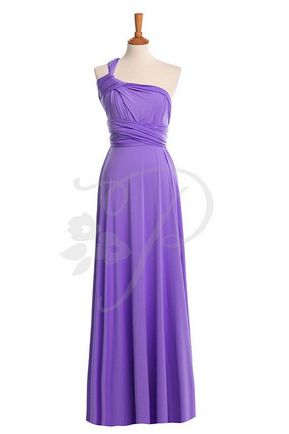 1 Convertable Bridesmaid Dress, Multiway Wrap Dress, Purple Infinity Dress, Convertible Wrap Bridesmaid Dress