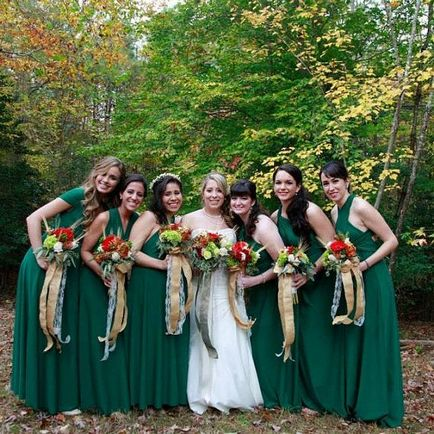 10 Convertible Bridesmaid Dress Set, Emerald Bridesmaid Dress, Infinity Maxi Dress, Dress Wraps Different Ways
