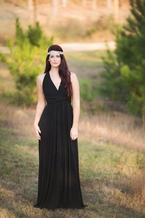1 Convertible Bridesmaid Dress, Black Infinity Dress, Infinity Dress Plus Size, Convertible Bridesmaid Dress Long