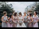 13 Infinity Bridesmaid Dress Set, Pink, Grey Convertible Dresses, Wedding Party Gift, Infinity Wedding Dress