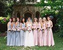 Pack of 10 Convertible Bridesmaid Dress, Grey, Pink Infinity Dresses, Convertible Wrap Bridesmaid Dress, Party Dress